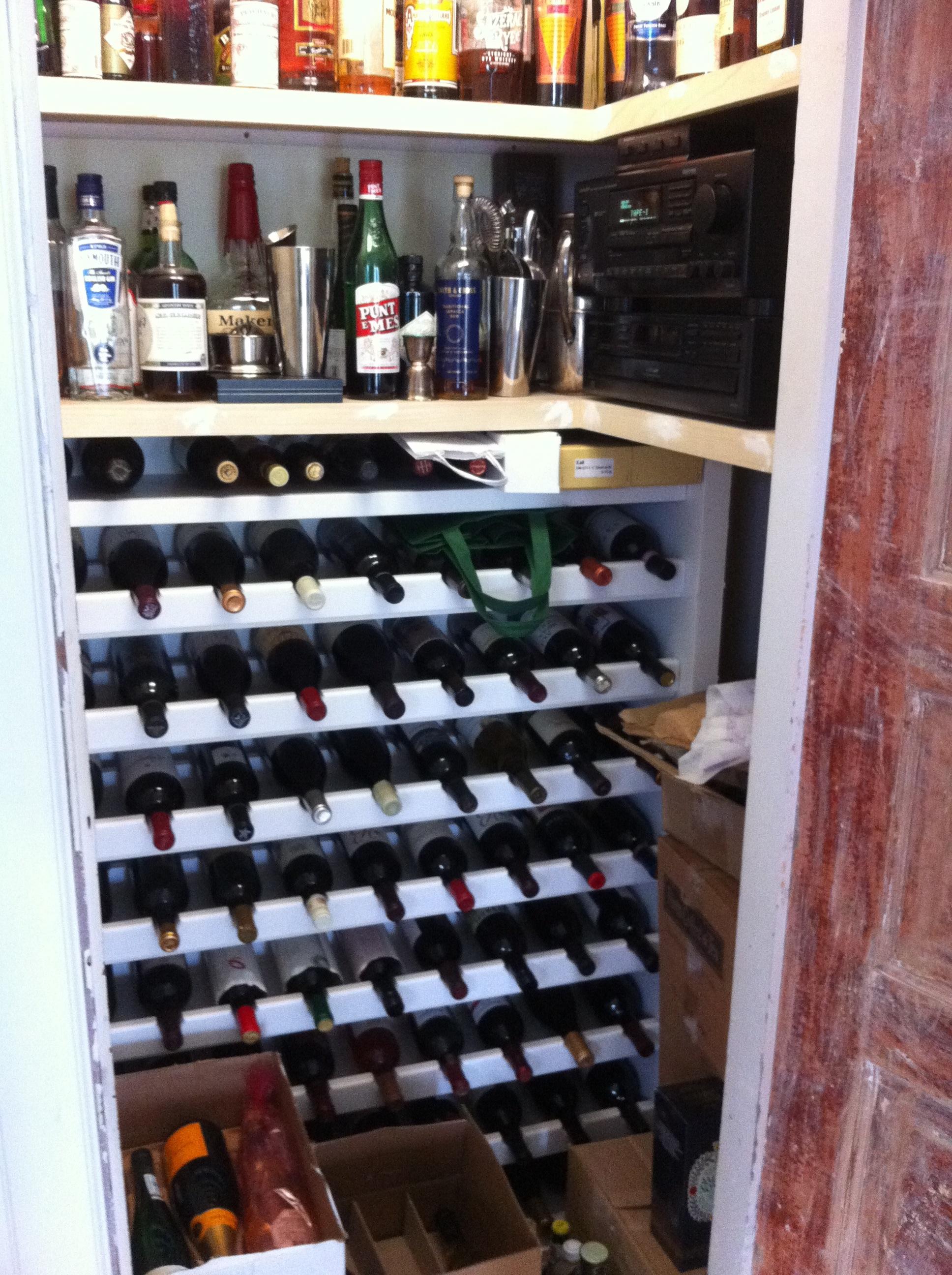 120 bottle wine rack plans