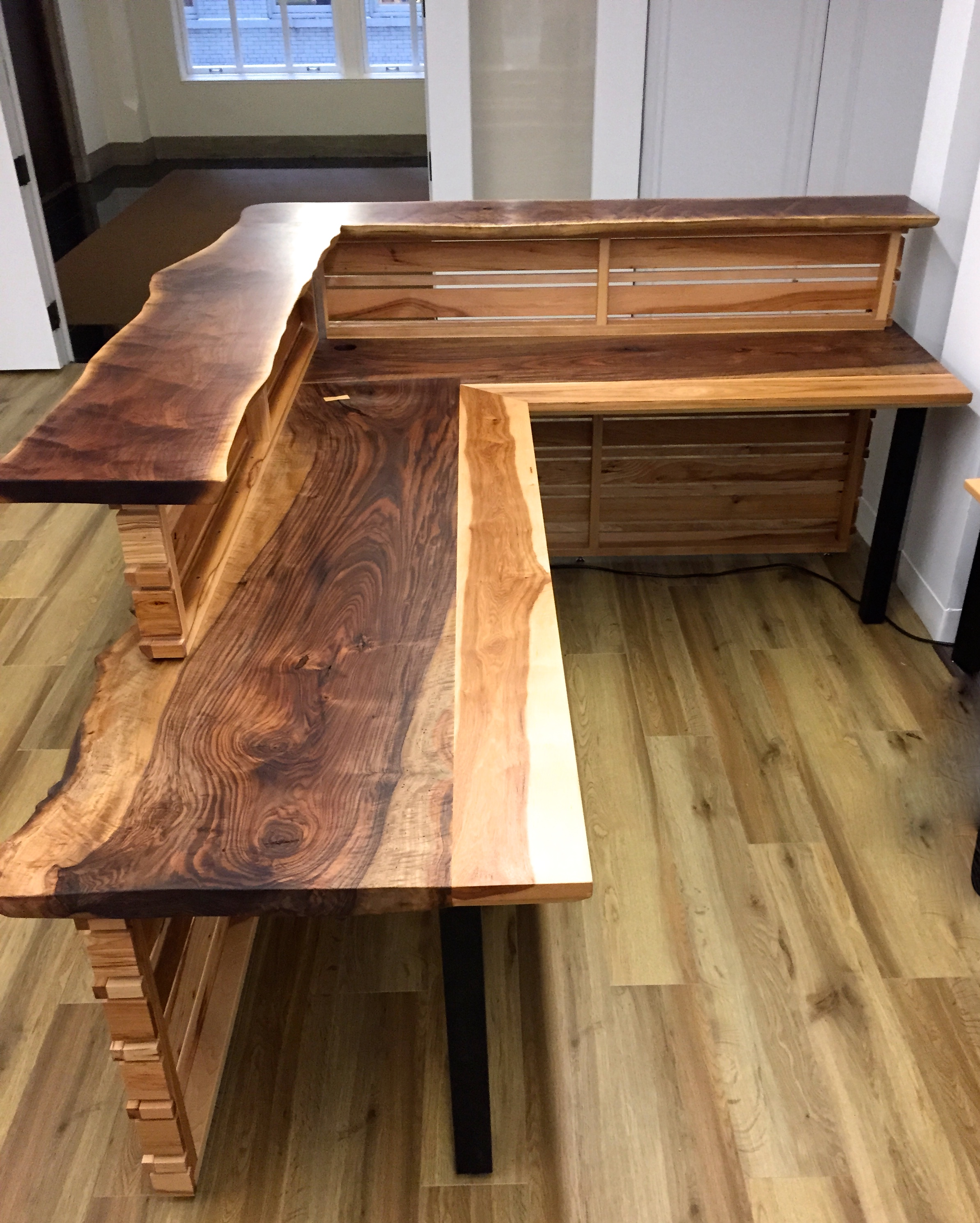Live Edge Benches Design Trifecta Henry Leggett M A